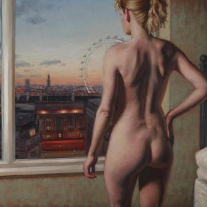 'London Eye' Oil on Canvas 80x50 cm €3500
