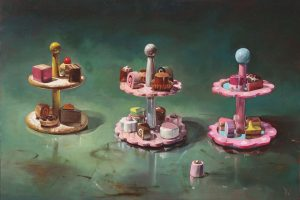 'French Pastries' Oil on Canvas 70x50 cm €1800
