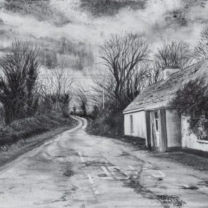 'Horseshoe Valley' Charcoal on Canvas 100x70cm €3200