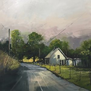 'Cottage on the Corner' Oil on Canvas 60x60cm €1200