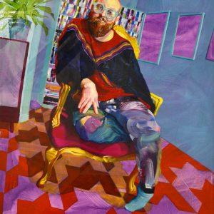 'Carousel' Oil on Canvas 81x112cm €3600