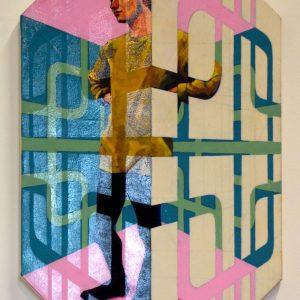 'Platonic' Oil on Canvas SOLD
