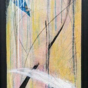 'Rush and Reed' (ii) 105x43.5 cm Mixed Media €990