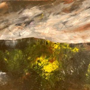 'My Dream Island, near the Burren' 50x70 cm Oil on Canvas €1200