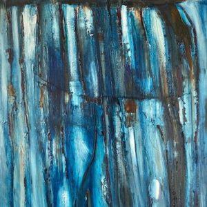 'Strange Colours in the Burren' 50x70cm Oil on Canvas €950