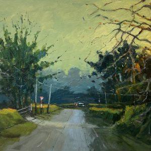 'Home ward Bound' 50x70 cm Oil on Canvas €1800