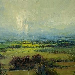'A burst of Light' 50x70 cm Oil on Canvas €1800