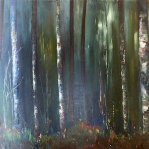 'Mystical Woods' 70x50 cm Oil on Canvas €800