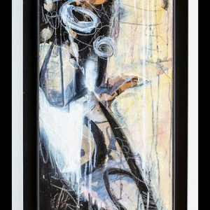 'Rush and Reed' (i) 105x43.5 Mixed media on Canvas €990