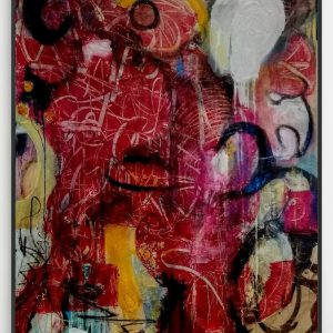'Here and Now' 112x87cm Mixed Media on Canvas €2500