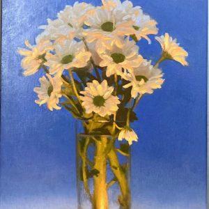 'Flowers' by Conor Walton 3ox40 cm Oil on Linen